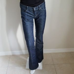 Citizens of Humanity Low Waist Bootcut Jeans - 28